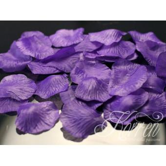 Płatki róż - fioletowe 100szt