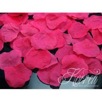 Płatki róż - różowe100szt