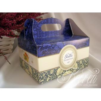 Pudełko na ciasto Szafir