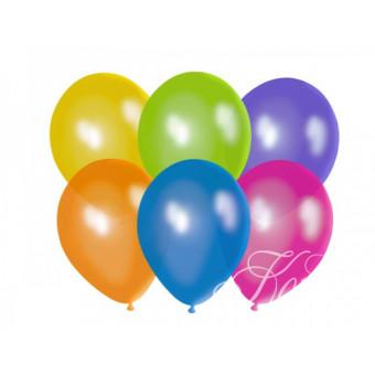 """Balony 10"""", Crystal Mix"""