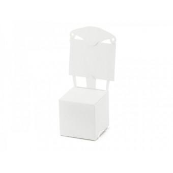 Pudełeczka Krzesełko białe...
