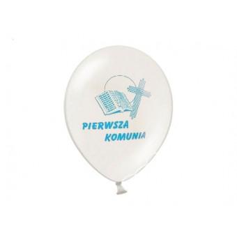 """Balony Komunia - 27 cm """" I..."""