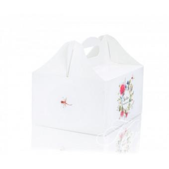 2Pudełko na ciasto - polne kwiaty