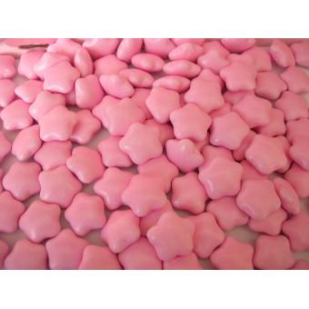2Czekoladki gwiazdki w lukrze - różowe 0,5 kg