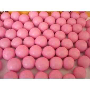 2Kokos w czekoladzie i w lukrze - różowe 0,5 kg